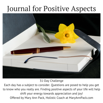 Your Are Invited!! 31-Day Journal Challenge